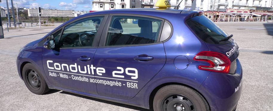 conduite 29 auto ecole brest permis auto permis moto bsr code de la route. Black Bedroom Furniture Sets. Home Design Ideas